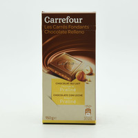 كارفور شوكولاتة بالحليب والبرالين 150 جرام