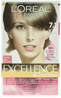 L'OREAL Excellence Creme Ash Blonde No.7.1