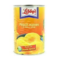 Libby's Peach Halves in Heavy Syrup 420 g