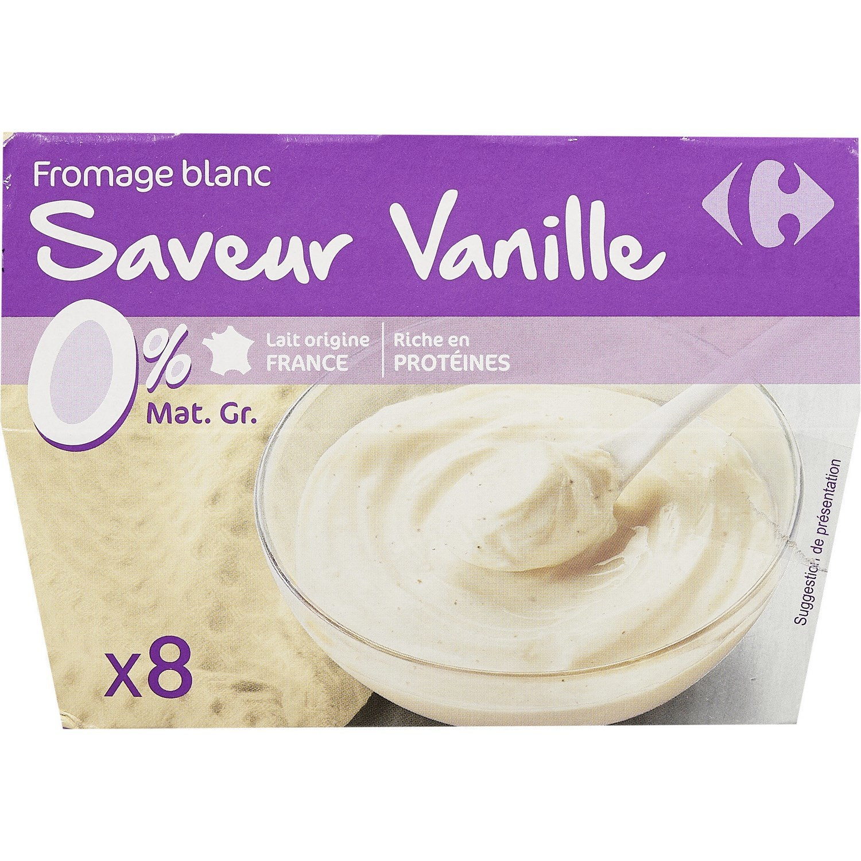 CRF 0% SOFT CHEESE VANILLA 100GX8
