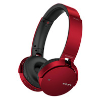 Sony Headphone MDRXB650BT Red
