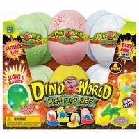 JaRu Dino World Light Up Dino Egg With (Assorted)