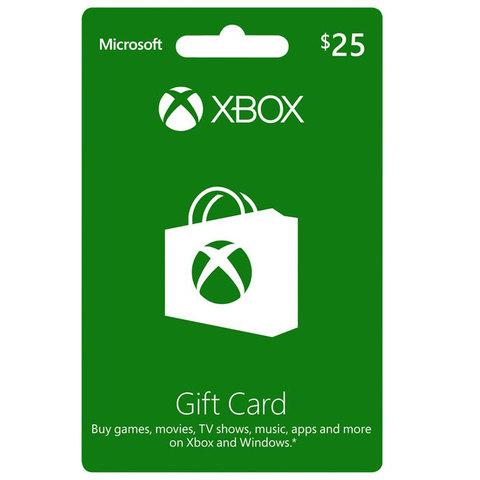 Microsoft-Xbox-Live-Gift-Card-$25