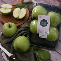 Organic Green Apples 4 Pieces