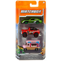 Matchbox 3-Pack Assorted