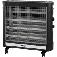 SAMIX Heater Electrical AH-9230 2750 Watt With Fan Black