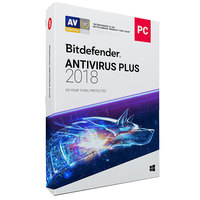 Bitdefender Antivirus 2018- 1 User