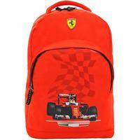 """Ferrari Red Victory Backpack 17"""""""