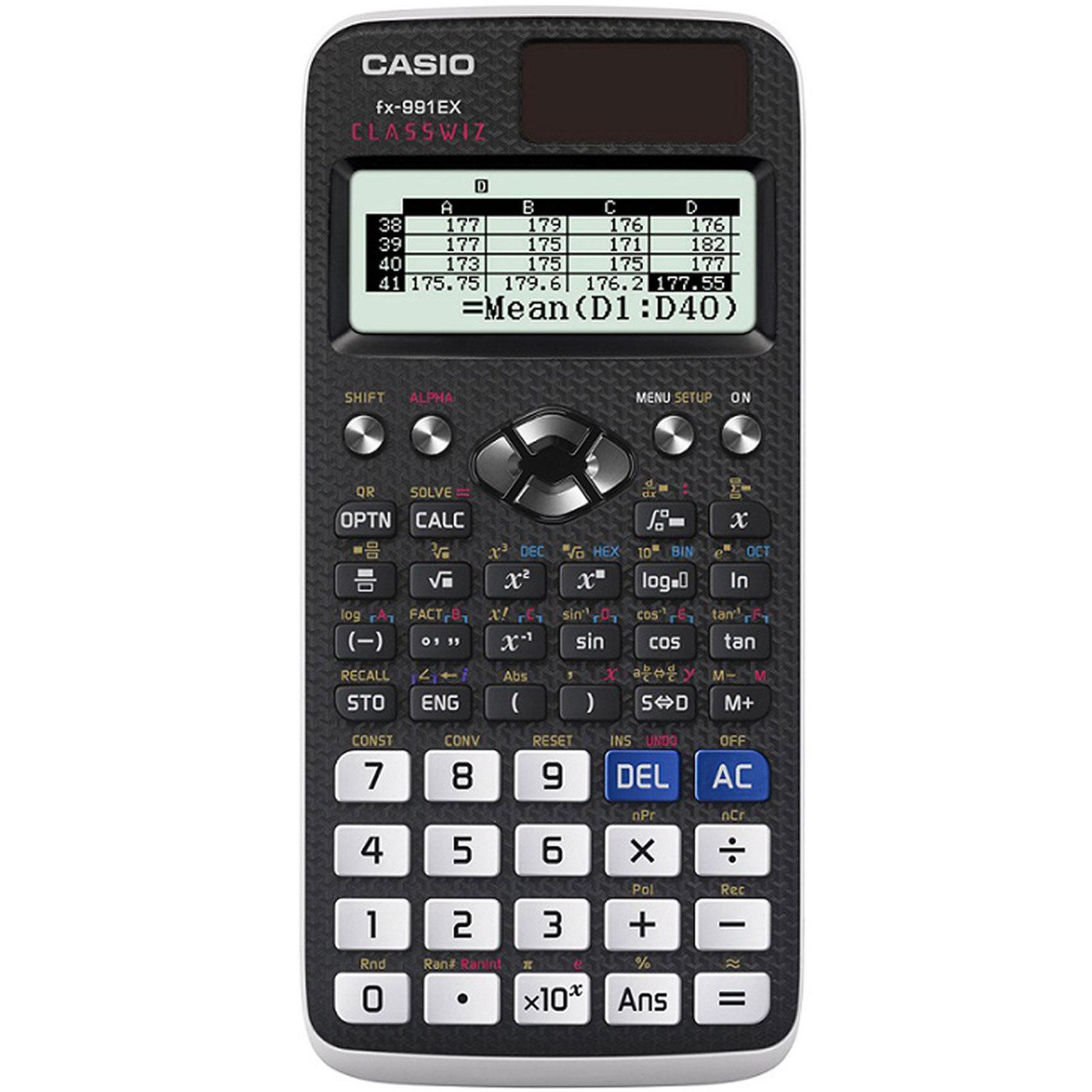 CASIO FX-991EX CLASSWIZ SCIENTIFIC