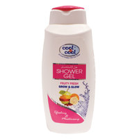 Cool & Cool Showver Gel Fruity Fresh Grow & Glow 500ml