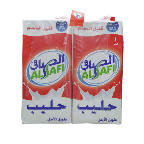 Al-Safi-Long-Life-Milk-Low-Fat-1L-x4