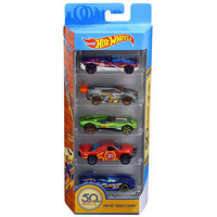 Hot Wheels 50Th Track Stars 5-Pack
