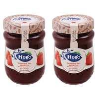 هيرو مربى الفراولة 350 غرام حبتان