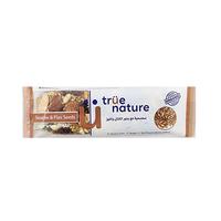 True Nature Sesame & Flax Seeds Bar 40GR