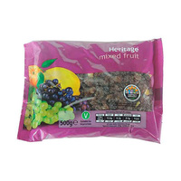 Heritage Dried Mixed Fruit 500GR
