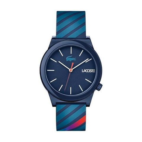 Lacoste-Men's-Watch-Motion-Analog-Blue-Dial-Blue-Silicon-Band-41mm--Case