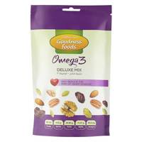Goodness Foods Omega 3 Deluxe Mix 175g