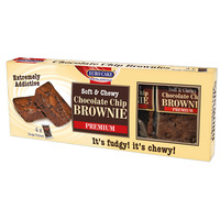 Eurocake Chocolate Chip Brownie 280g