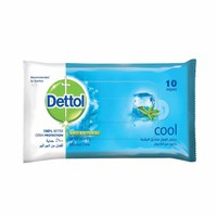 Dettol Wipes Cool 10 Sheets