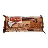 Britannia Bourbon Chocolate Flavoured Cream Biscuits 100g