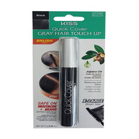 Kiss Brush In Hair Color Black