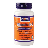 Now Vitamin D-1000 Iu S/Gels 180'S