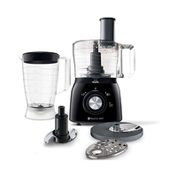 Philips HR7631/90 Daily Collection Food Processor 2 in 1 600 Watts Black