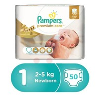 Pampers Premium S1 50 Sheets -8% Off