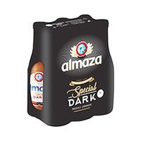 Almaza Dark Beer Bottle 33CL X6