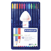 Staedtler Ergo soft Color Pencil 12Pcs