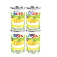 American Kitchen Whole Kernel Corn 425g x4