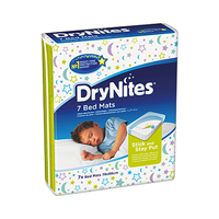 DryNites Bed Mats 7 Sheets