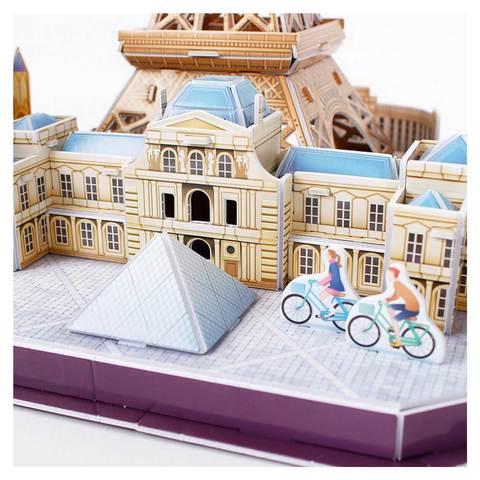 CF CITY LINE PARIS 3D PUZZLE