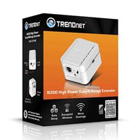 TrendNet High Power Wireless N Range Extender TEW-737HRE N300
