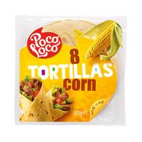 Poco Loco Corn Tortilla 20CM