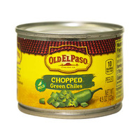 Old El Paso Chopped Green Chiles Mild 127GR