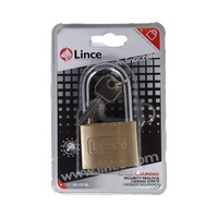 Lince Long Shacklie Brass Padlock 50 Mm 301-50