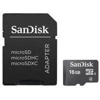 SanDisk Micro SDHC 16GB Class4 + Adaptor