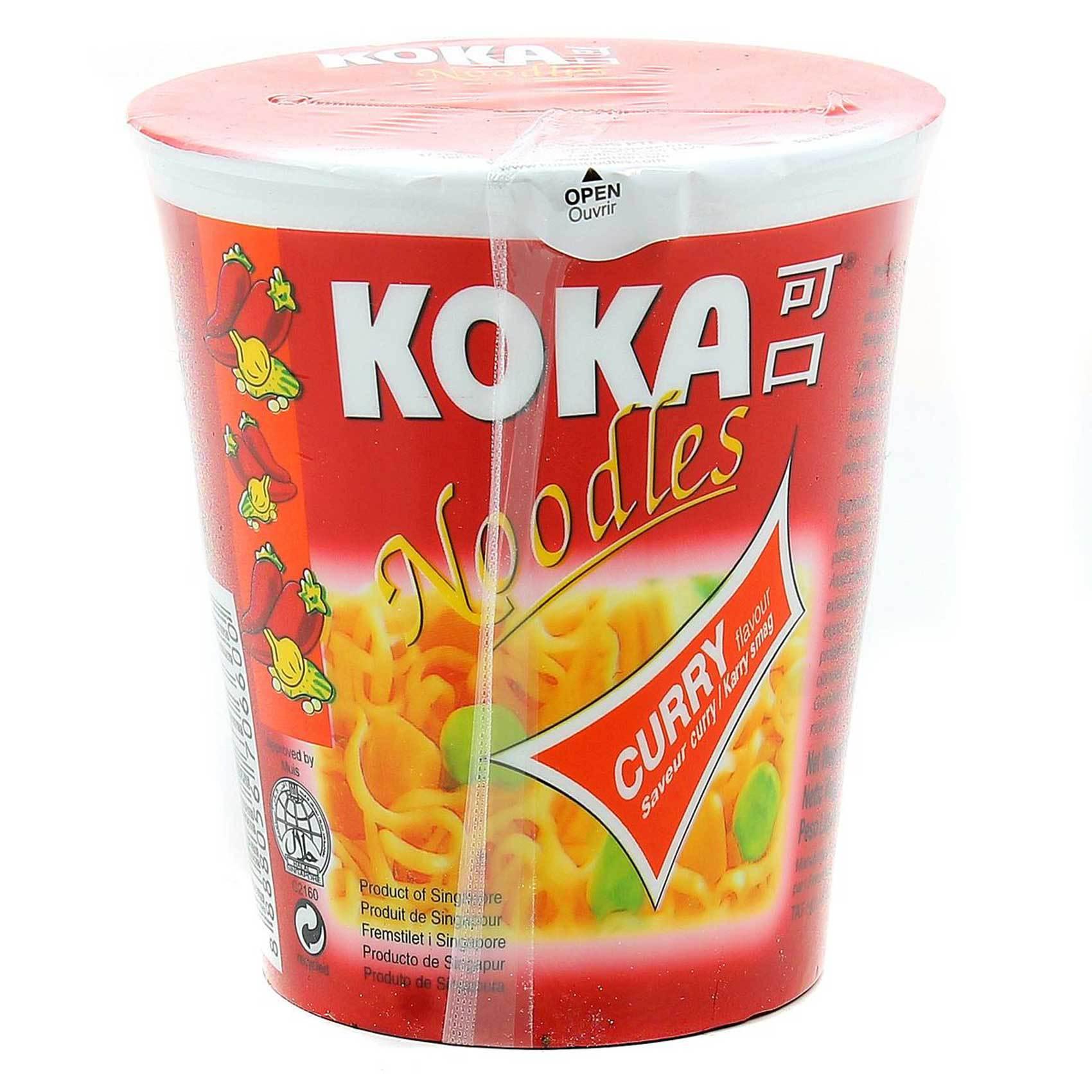 KOKA CUP NOODLES CURRY 70GR