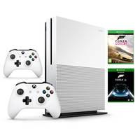 Microsoft Xbox One S 1TB+Forza Horizon 2+Forza 6+ 2 Wireless Controller