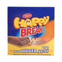 تيفاني هابي بريك شوكولاتة بالحليب 16 غرام 24 حبة