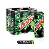 Mountain Dew Can 6 x 330 ml