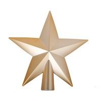 Christmas Decoration Star Tree Top20 Cm Gold
