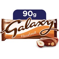 Galaxy® Hazelnut Chocolate Bar 90g