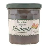 Carrefour Jam Rhubarbes 370g