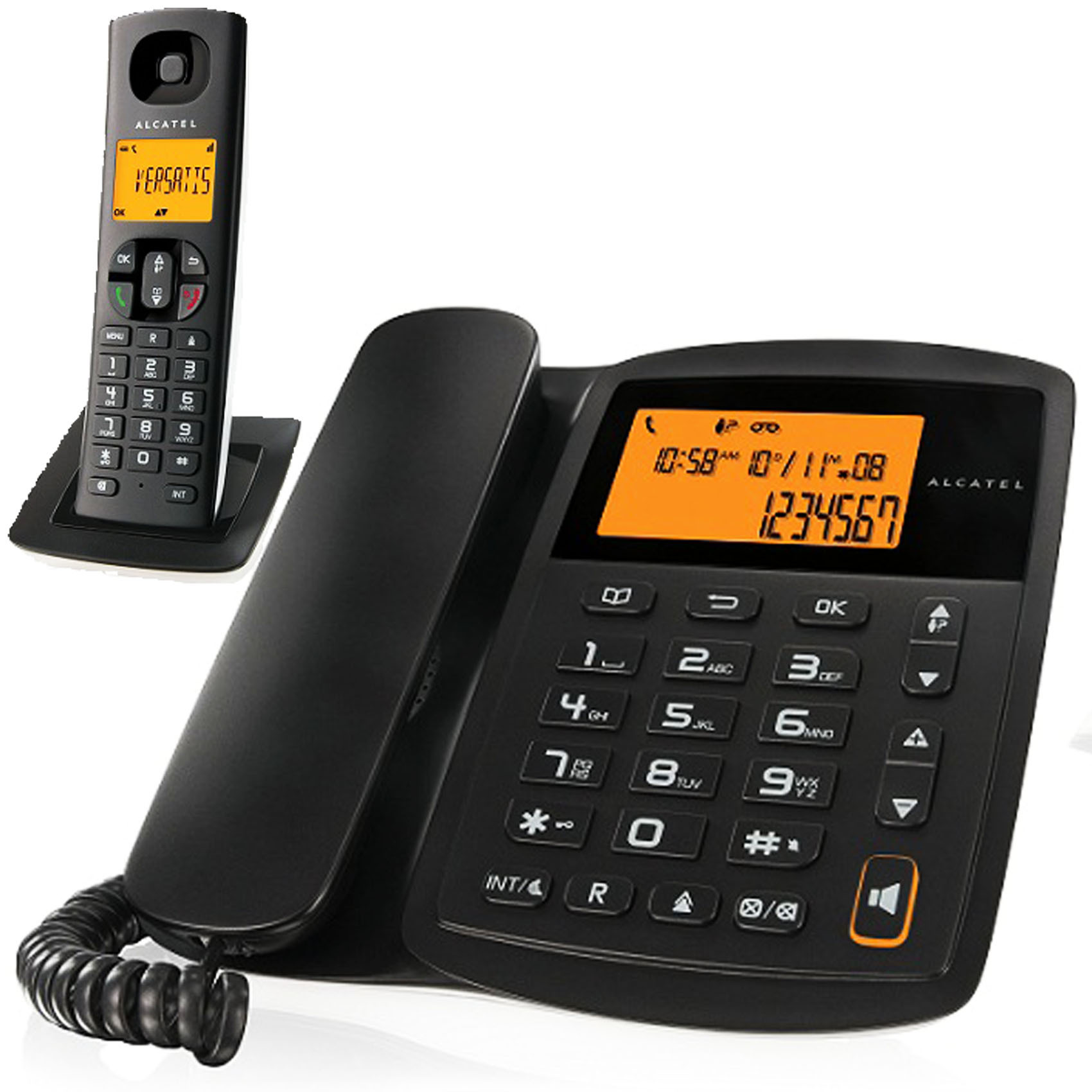 ALCATEL COMBO E100 DECT PHONE