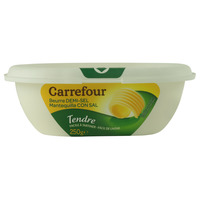 Carrefour Butter Salted Soft Cup 250g