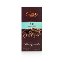 Cemoi Dark Chocolate With Almonds 100GR