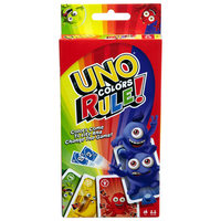 Mattel Uno Colors Rule Game