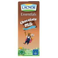 Lacnor Essentials Chocolate Low Fat Milk 180ml